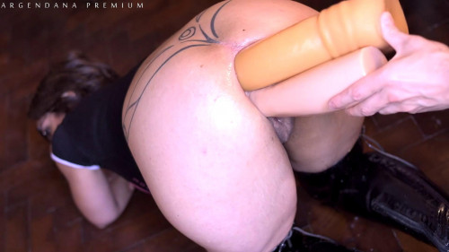 ArgenDana In Even Bigger Dual Anal Dildo Insertion - Full HD 1080p
