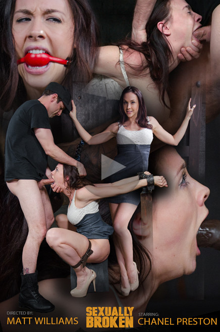 SexuallyBroken - Mar 09, 2016 - Sexy Chanel Preston gets a orgasm and facefucking overload Sex