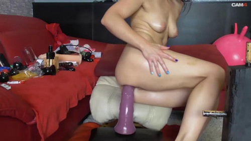 BiackAngel Big Dildo And Prolapse Collection Part Two Fisting and Dildo