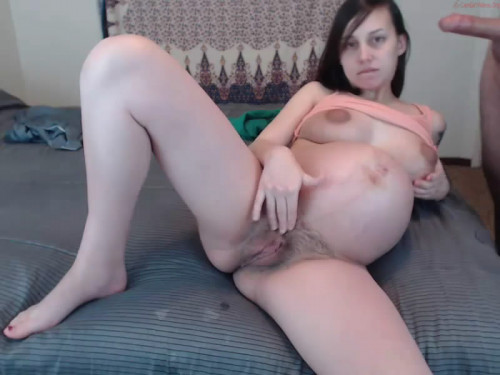 Pussy Show Off Pregnant