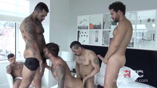 Dark Alley Media - Cummin' Inside Vol.2 Gay Porn Movie