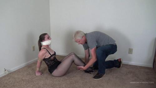 Serene Isley - Nylon Hood Hogtied Captive