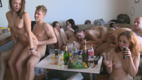 Czech Home Orgy - vol. 9 - Part 3 Orgies