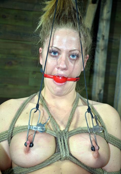 Slave for electric torture