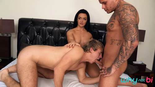 WhyNotBi - Ryan Cage, Christian, Sofia The Bum (1080p) Bisexuals