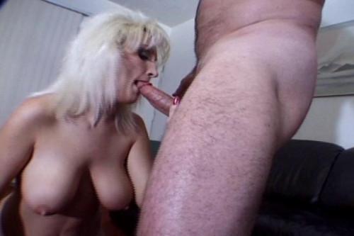Big Tit Ashley Anne Sucking Off in POV