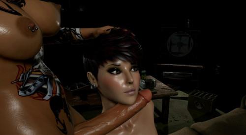 Stella, Ona & Jolie - The Devil Inside (3DXNIXAH 3D Porno