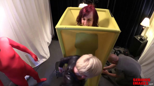 Taking Turns In The Rubber Barrel