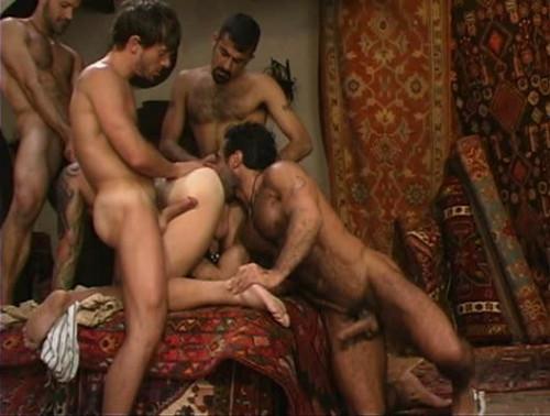 Huessein & Francois Sagat In Rough Orgy