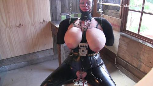 Electric Chair BDSM Latex