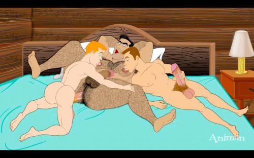 Animan – Drippin' man Part 4: Big oldster John – 720p