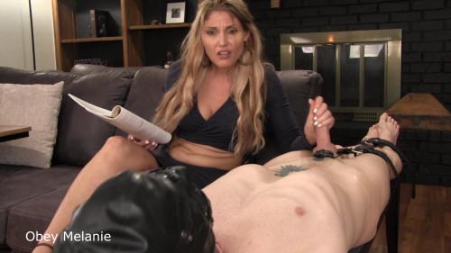 Obey Melanie How to please your man Handjob
