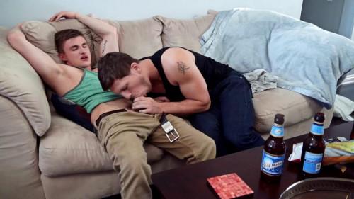 Roman Todd unloads his goo inside Jake Davis