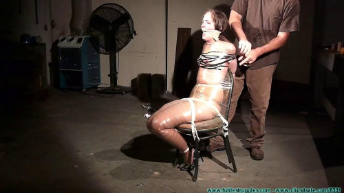 Rachels Mummified Chair Suspension - Part 2