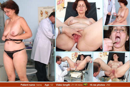 Ivana (52 years woman gyno exam) MILF Sex