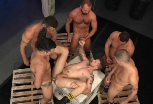 Gangbang Attack With Troy Daniels Gay Porn Movie