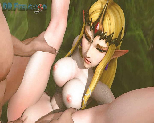 Princess Zelda Anime and Hentai