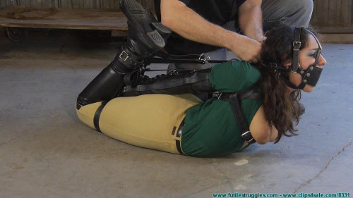 Ellen Equestrian to PonyGirl - Leather 3 part - BDSM,Humiliation,Torture HD 720p