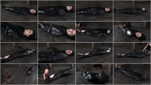 Super bondage, domination and torture for hot beautiful girl BDSM Latex