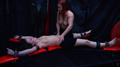 HD Pain play Sex Episodes Ticklish confrontation of 2 topless