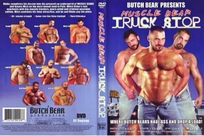 Bareback Muscle Bear Truck Stop - Arpad Miklos, Blake Nolan, Mick Powers