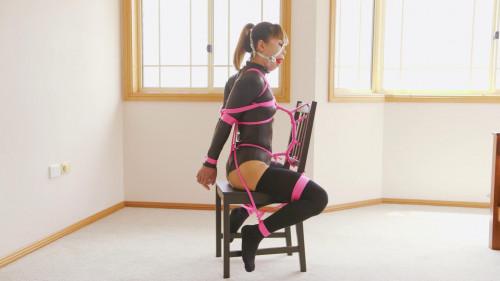 RestrictedSenses - Mina - Straddle Chair Bound BDSM