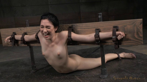 Aria Alexander Bound In Brutal Back Arch BDSM