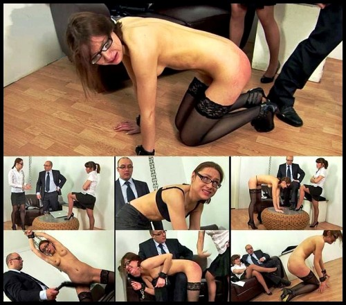 Teacher College Public Humiliation & Spanking (Kati) ST