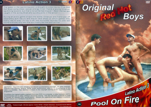 Red Hot Boys - Latino Action vol.3 - Pool on Fire Gay Movies