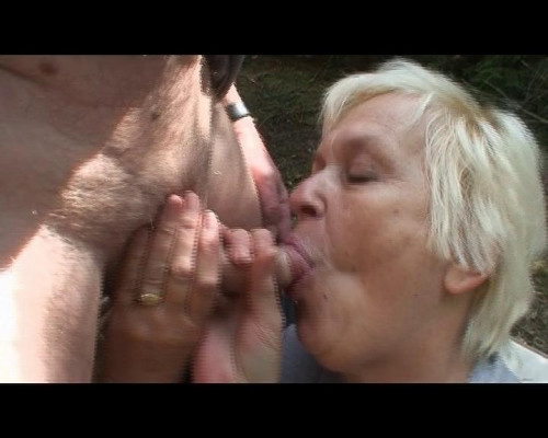 Old couple in a threeway MILF Sex