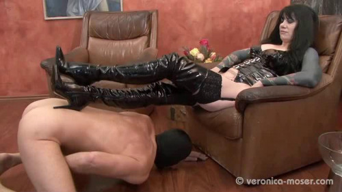 Veronica Moser Femdom and Strapon