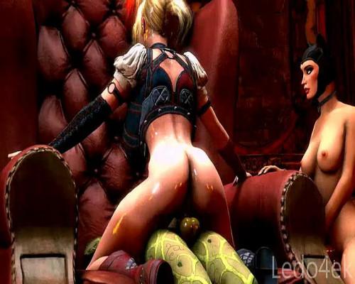 Harley Quinn - Assembly 3D Porno