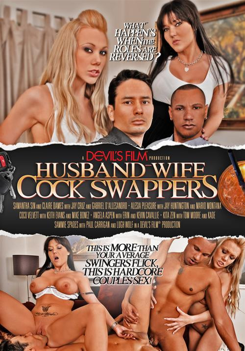 Husband-Wife Cock Swappers Part  1