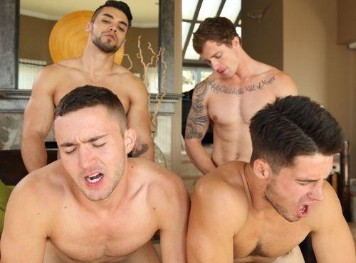 Cock Tales - Arad, Colt Rivers, Jordan Evans & Markie More