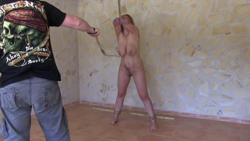 Ultra Breaststorture - Swinging Tits Whipping Session for Bettine