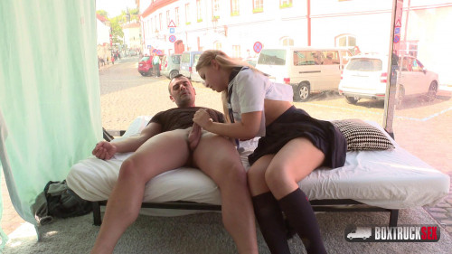 BoxTruckSex - Selvaggia - Picked up From a Park and Fucked