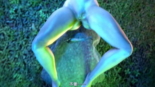 Tantacle & Big Monster 3D Porno