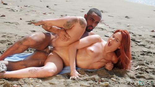 Gala Brown - Sex On The Beach (2019) Interracial Sex