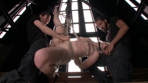 Young Slut takes Massive Cocks BDSM