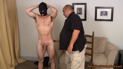Shy Muscle Stud Spanked