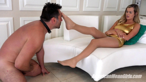 Most Pathetic Cum Ever Femdom and Strapon