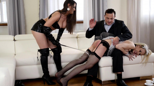 Spanking and Banging - Scene FIRST - Kendra Star and Chessie Kay - Full HD 1080p