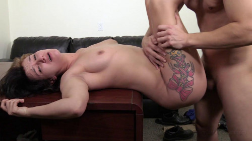 Brooke - Flexible amateur gets creampied on the casting couch