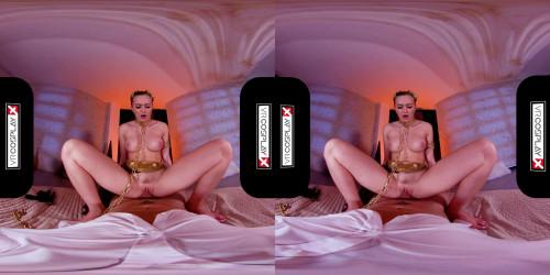 Stacy Cruz - Star Wars- Slave Leia A XXX Parody 3D stereo