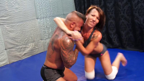 Mixed Wrestling Zone - Zsuzsa - HD 720p Female Muscle