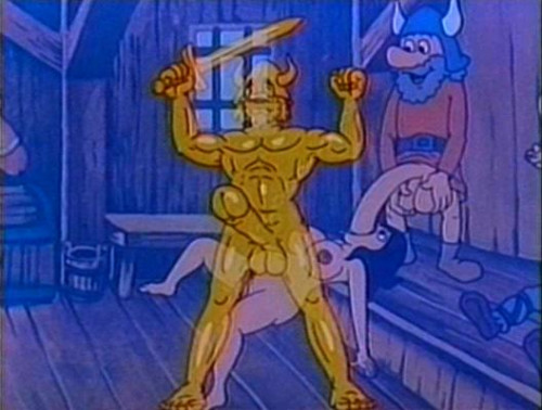Sweet eroticism in the cartoons Cartoons
