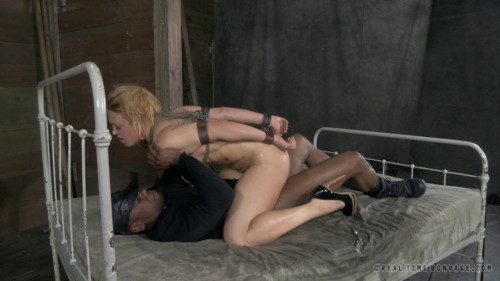 RealTimeBondage Darling is DPed and turned into a 3 gap doxy!
