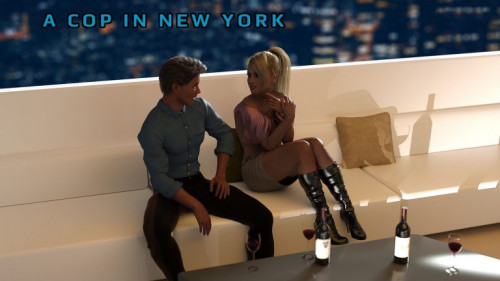 A cop in New York Porn games