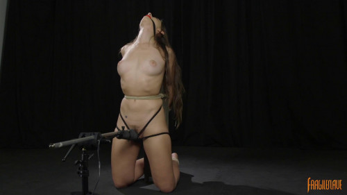 Kneeling, Post Tied, & Made to Cum