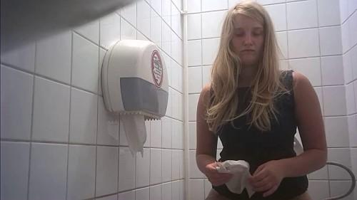 Hidden camera in the student toilet Part 11 (2018) Hidden Cam Sex